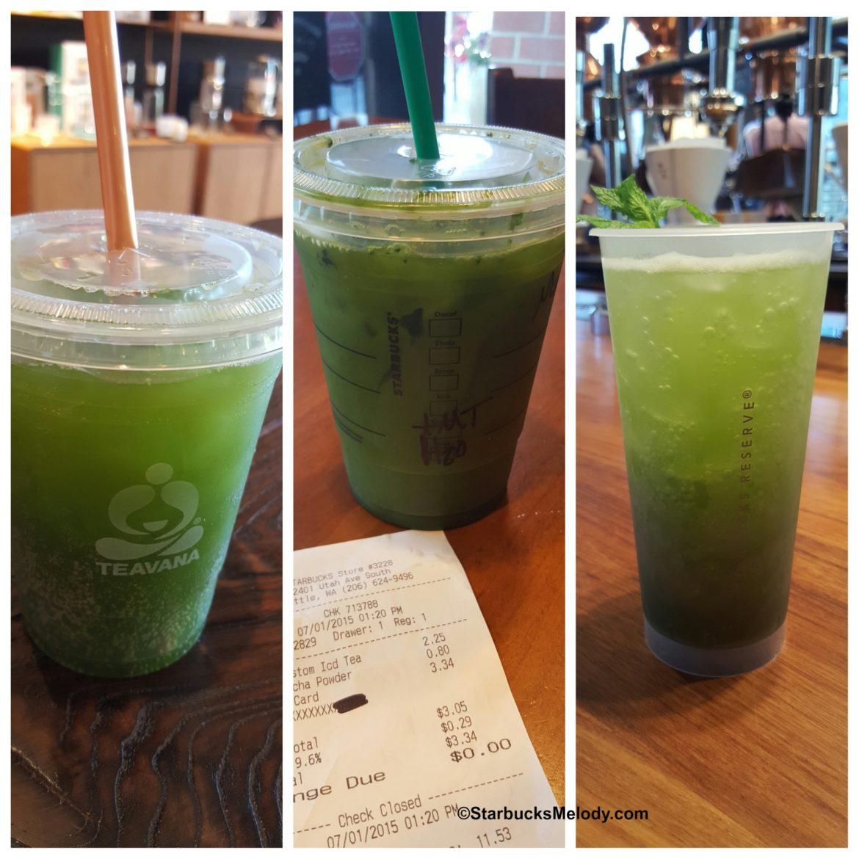 Iced Matcha Beverages: Starbucks Teavana and the ...
