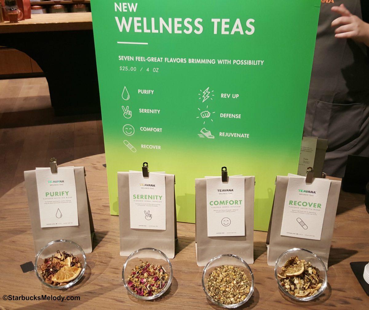 Teavana Wellness Tea Gift Set
