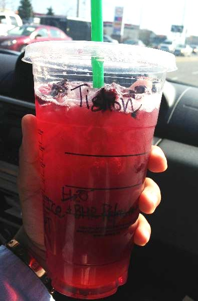 Starbucks Secret Menu Berry Hibiscus Passion Tea