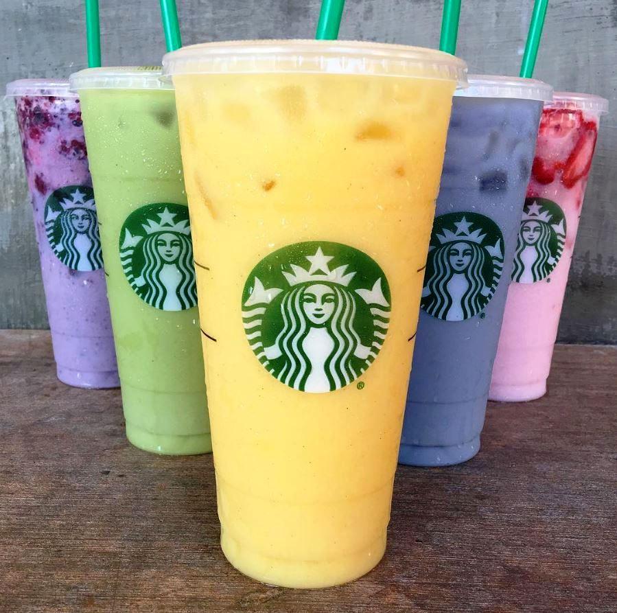 starbucks blue drink starbucks