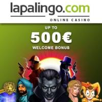 €10 Free Plus €500 Welcome Bonus & 20 Starburst Free Spins at Lapalingo