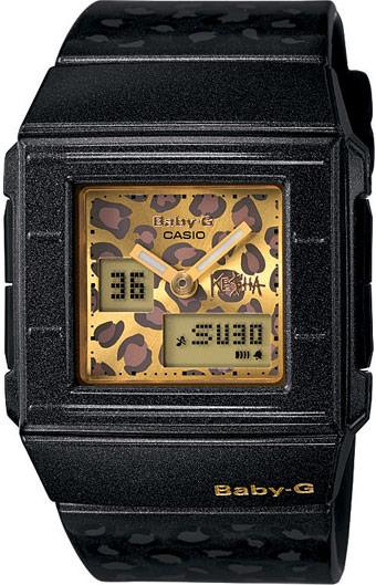 Limited edition Casio Baby-G leopard print watch by Ke$ha model BGA200KS-1E
