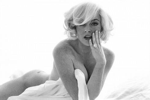 Lindsay-Lohan-as-Marilyn-Monroe