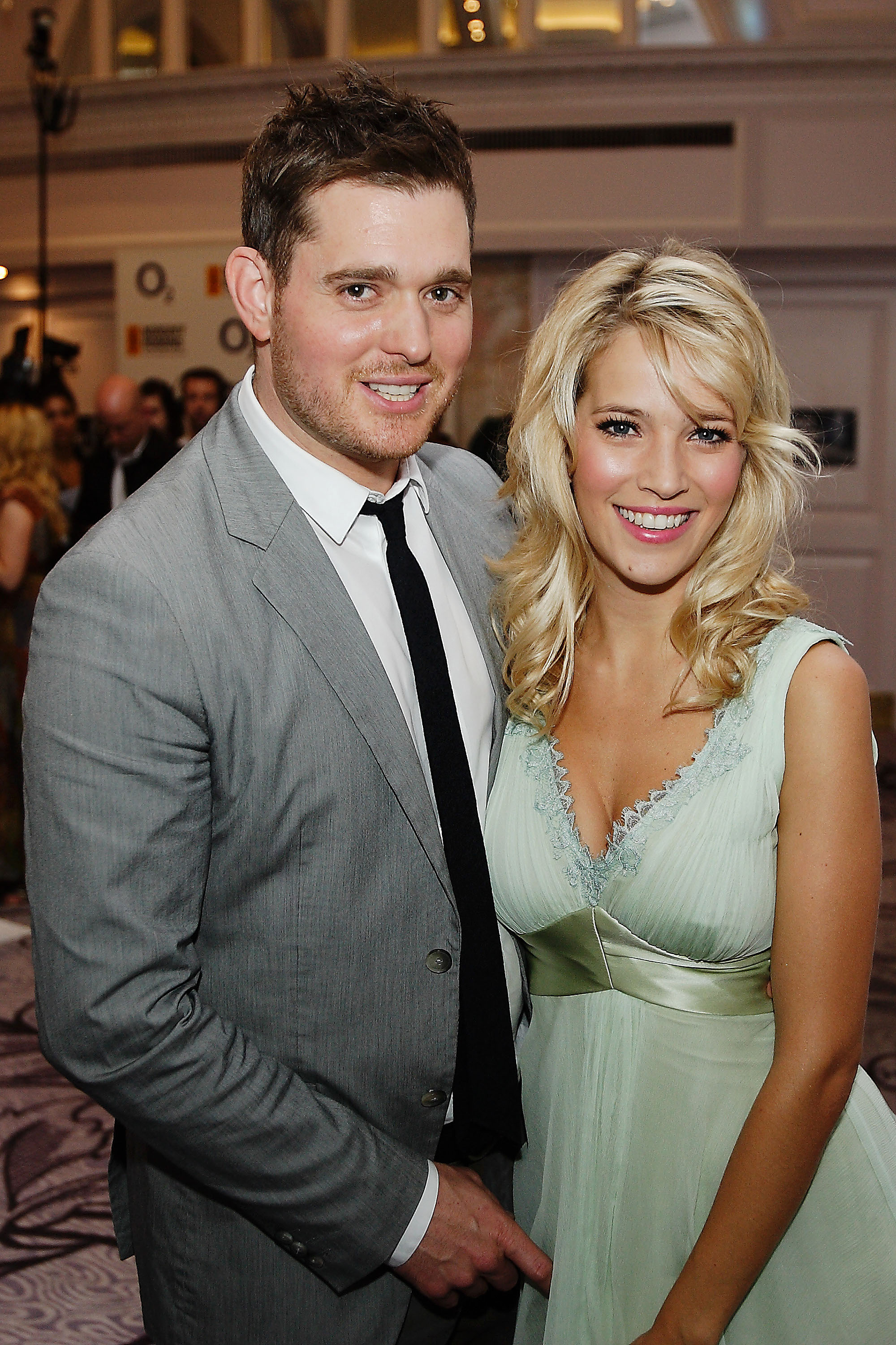 michael bublé and his