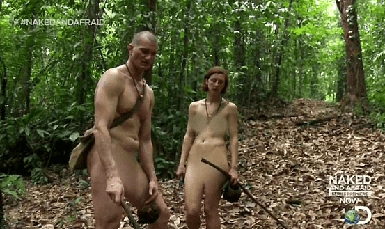 naked and afraid had sex on show