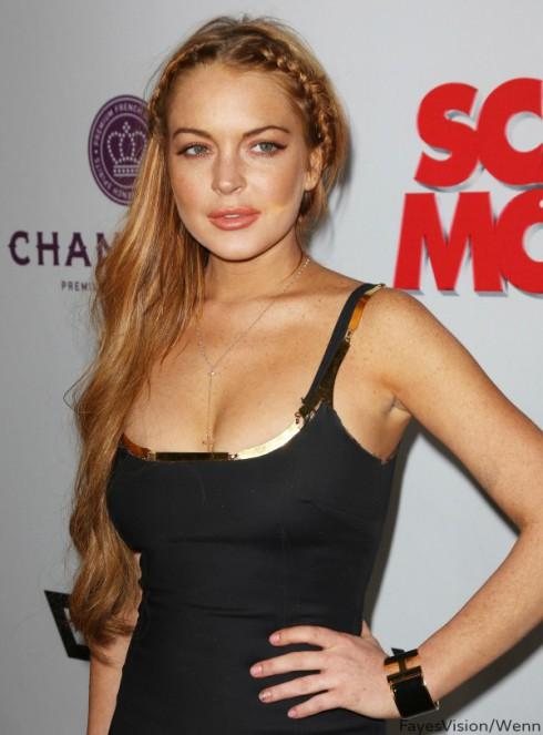 Lindsay Lohan The Canyons Movie