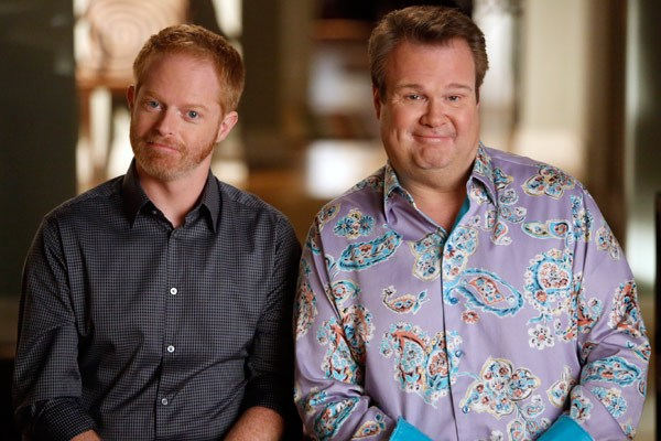 Image result for Modern Family Cam and Mitchell