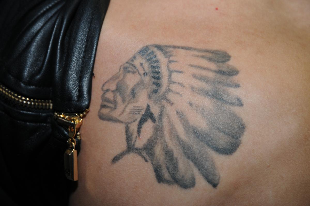 Justin Bieber Hockey Tattoo
