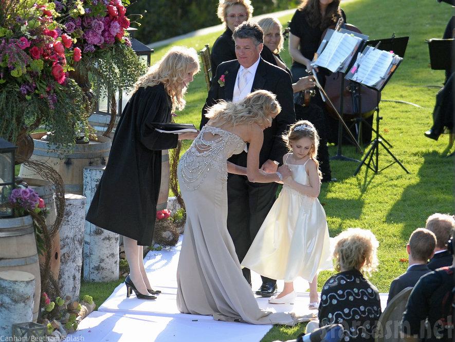 John Bluher and Taylor Armstrong wedding photos got married