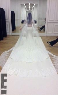 PHOTOS Kim Kardashian's wedding dress and ceremony with ...