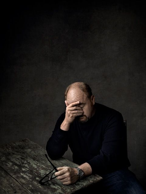Louis CK - Photo by Art Streiber for Entertainment Weekly, July 6, 2012