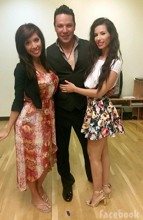 Farrah Abraham Paola Quezada salsa dancing