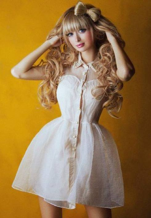 Cute Barbie Pictures For Wallpaper Meet Angelica Kenova The Self Proclaimed New Human Barbie
