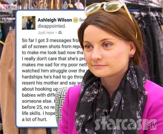 Ashleigh Evans Wilson Sick