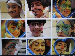 face Painting for School show