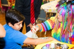 face painting arm