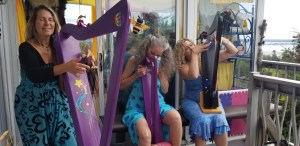 Fanny Starchild and Vegari Cendar Mystical Harp Music 1