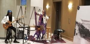 Fanny Starchild and Vegari Cendar Mystical Harp Music 2