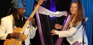 Fanny Starchild and Vegari Cendar Mystic Harp and Bass