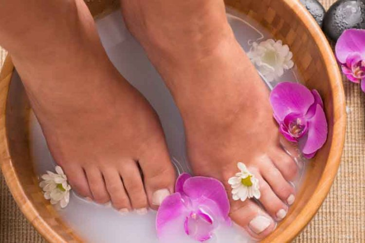 Flower Footbath