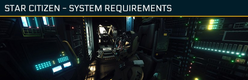 Star Citizen system requirements - Drake herald interrior