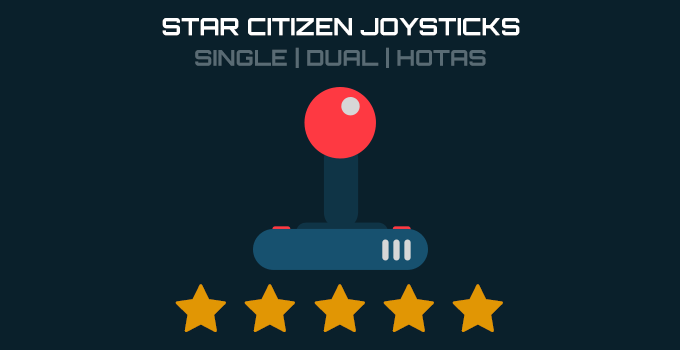 Star Citizen single stick, dual stick and hotas