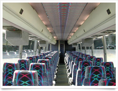 Coach Interior Seating.