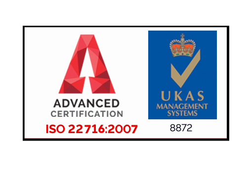 ISO9001 and ISO22716