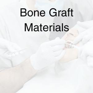 Bone Graft Materials