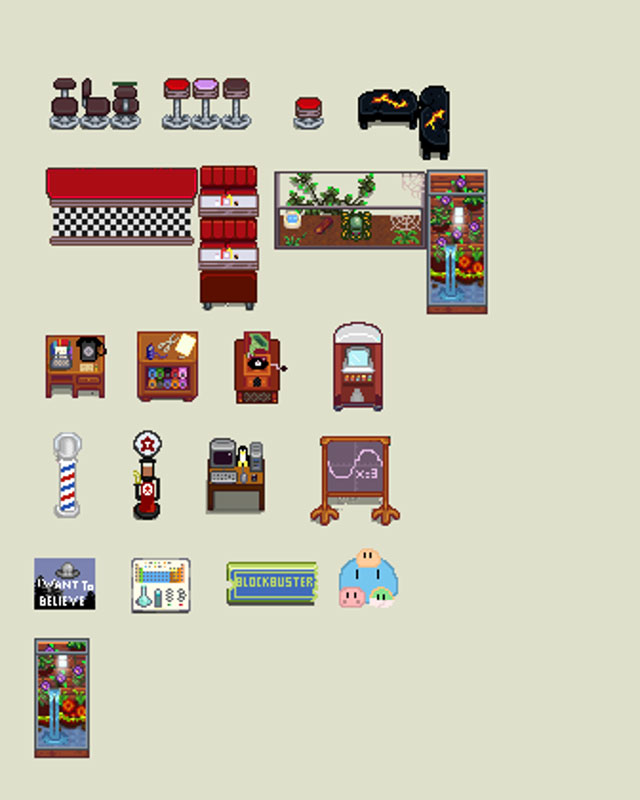 Stardew Furniture : stardew, furniture, Furniture, Stardew, Valley