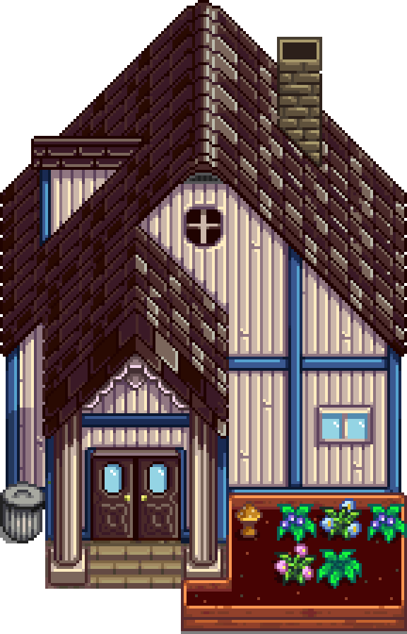 cart for kitchen diy pull out shelves mayor's manor - stardew valley wiki