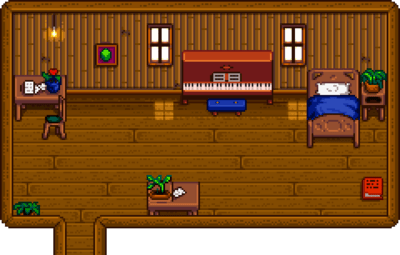 Elliotts Cabin  Stardew Valley Wiki
