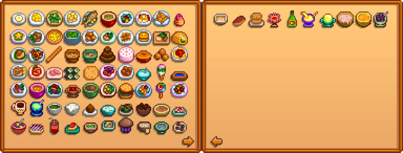 TemplateCollections Cooking  Stardew Valley Wiki