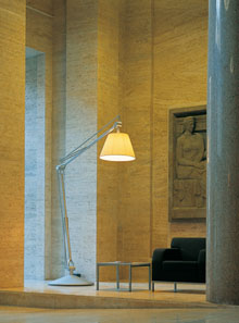 flos superarchimoon modern floor lamp by philippe starck