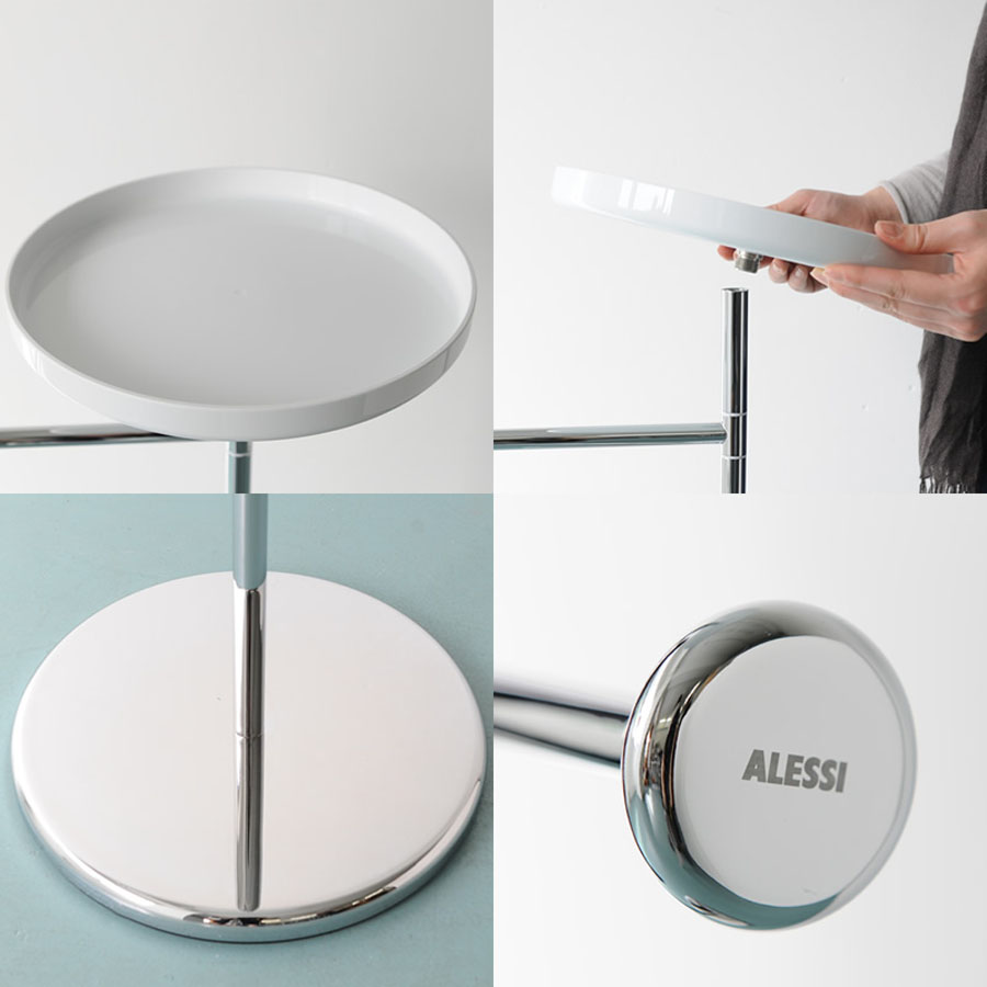 Bathroom Towel Stand Alessi Birillo Towel Rack Stand For Bathroom With Shelf