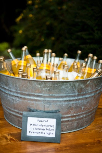 Trends We Love The Pre Ceremony Beverage Station Or Cocktail Hour Stardust Celebrations