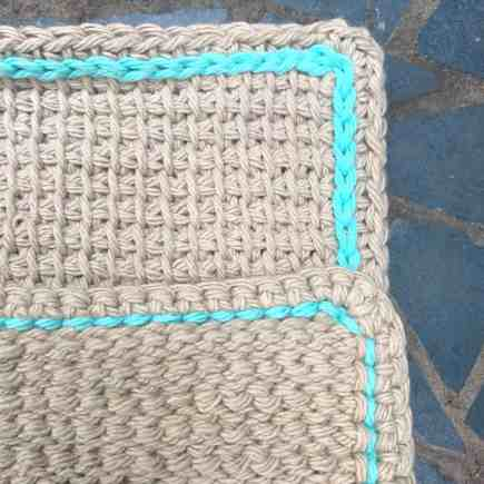 Tunisian Crochet Simple Stich