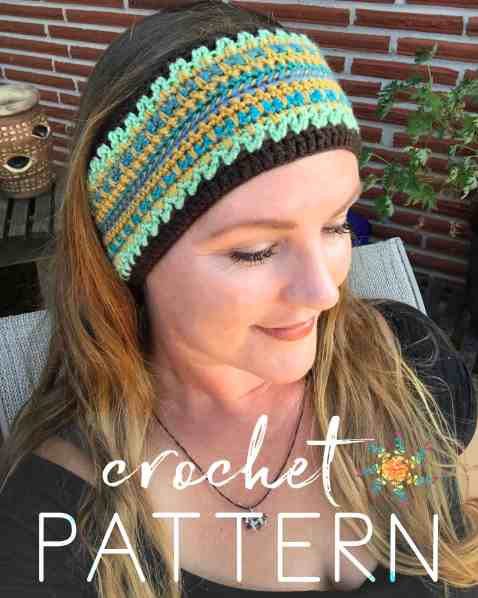 Crochet Pattern Overlay Smaller
