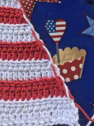 Abby's American Dream Crochet Bikini