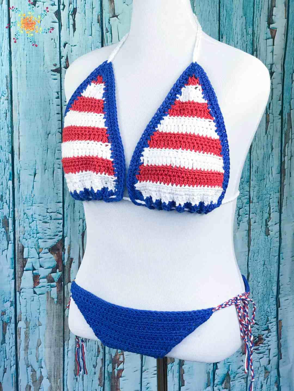 Abby's American Dream Bikini Pattern