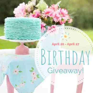 birthday giveaway Copy 2