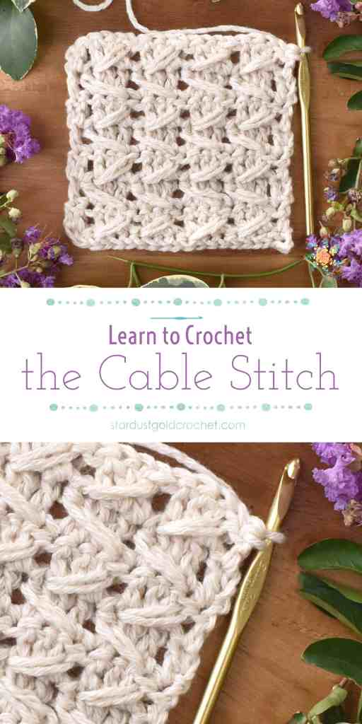 cable stitch tutorial