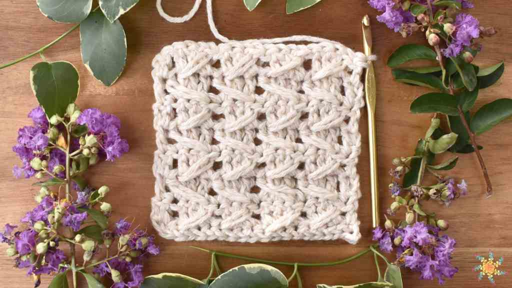 cable stitch crochet pattern