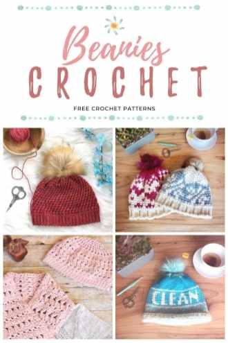 Crochet Beanies Pinit