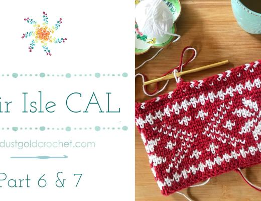 Fair Isle CAl Part 6 and 7