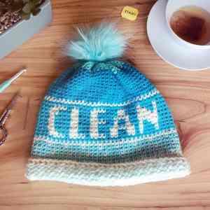 Clean Beanie by Stardust Gold Crochet