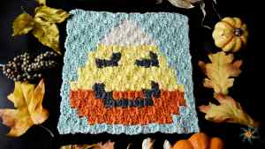 Candy Corn C2C by Stardust Gold Crochet
