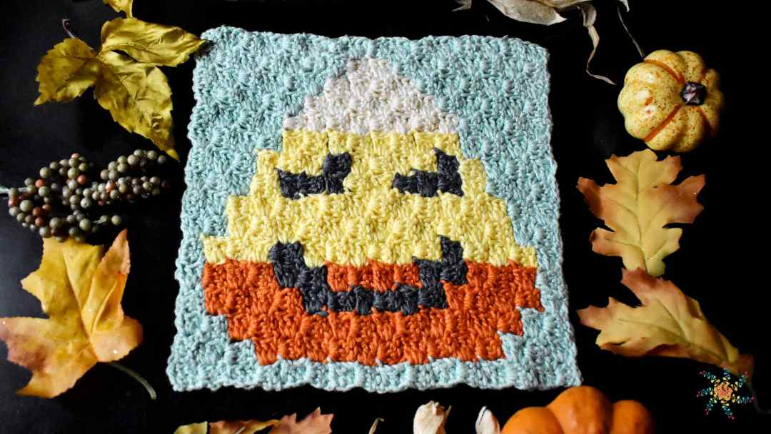 Candy Corn C2C by Stardust Gold Crochet