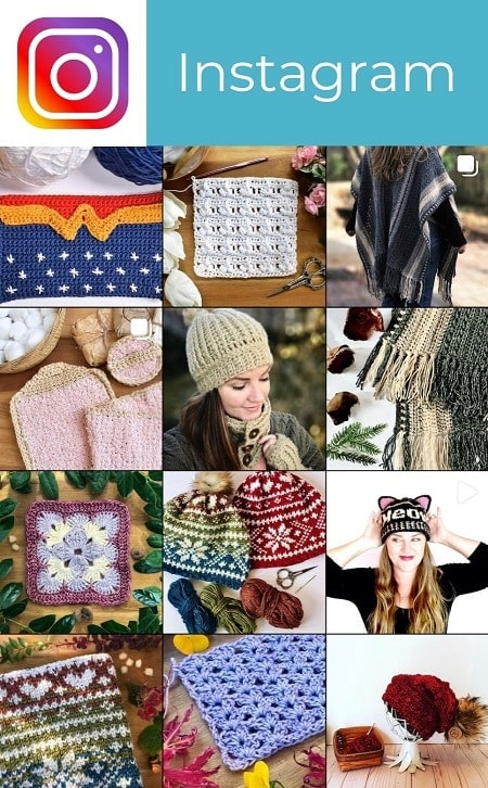 Stardust Gold Crochet Instagram Feed