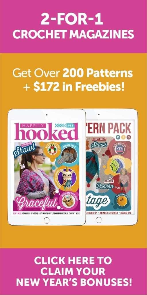 Happily Hooked Magazine SideBar Image